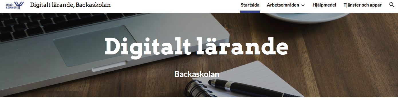 Digitalt lärande, Backaskolan