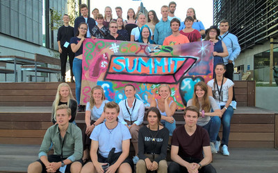 gruppbild youth summit sönderborg