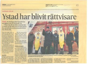Diplomering Ystad Fairtrade City