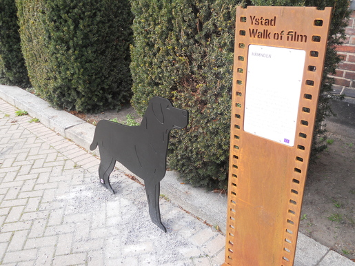 Walk of Film hund